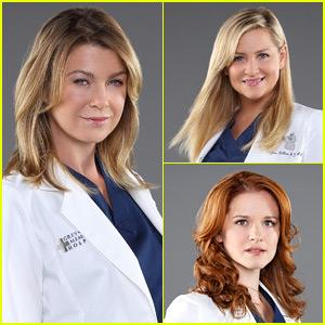 Ellen Pompeo Says Goodbye to 'Grey's Anatomy' Co-Stars Sarah Drew & Jessica Capshaw