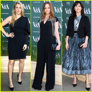 Ellie Goulding & Natalie Imbruglia Step Out in Style for V&A Fashioned from Nature VIP Preview!