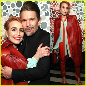 Ethan Hawke Joins Noomi Rapace at 'Stockholm' Screening at Tribeca Film Festival