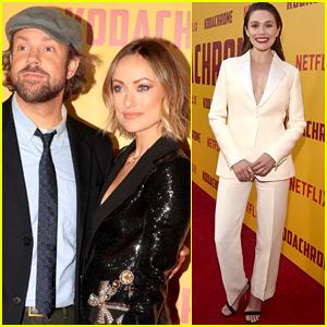 Jason Sudeikis & Elizabeth Olsen Premiere 'Kodachrome' in Hollywood!