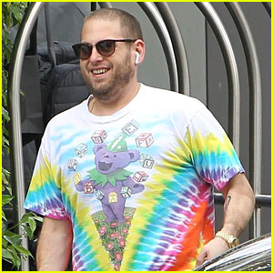 Jonah Hill Shows Off His New Buzz Cut While Shopping in LA