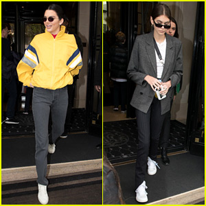 Kendall Jenner & Kaia Gerber Are Both in Paris Right Now!