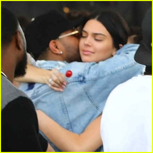 Kendall Jenner & The Weeknd Hug It Out at Coachella 2018