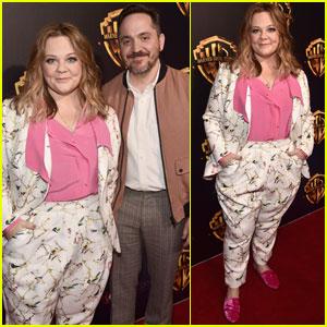 Melissa McCarthy & Husband Ben Falcone Couple Up at CinemaCon 2018