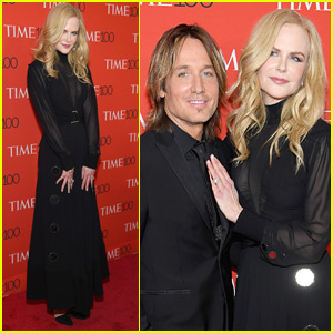 Nicole Kidman is Supported by Keith Urban at Time 100 Gala!