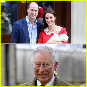 Prince Charles Reacts to Royal Baby News, Gets Real About Having 3 Grandkids!