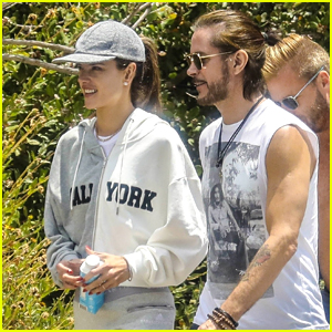 Alessandra Ambrosio Goes Hiking with Producer Raul Guterres