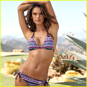 Alessandra Ambrosio Models Bikinis & Swimwear for Lascana's Campaign!