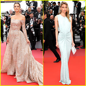 Alessandra Ambrosio & Martha Hunt Attend One of the Final Cannes Premieres!
