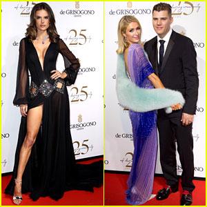 Alessandra Ambrosio, Paris Hilton, & More Glam Up for De Grisogono's Cannes Party!