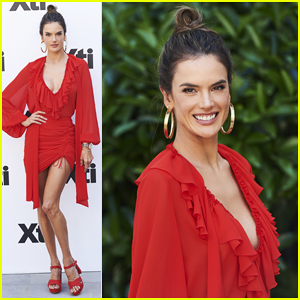 Alessandra Ambrosio Presents New Xti Collection in Madrid!