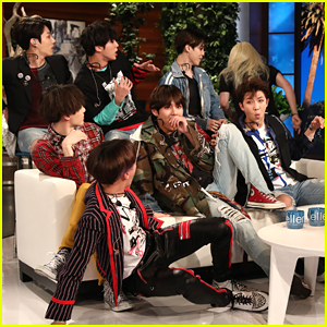 BTS Gets Scared by Fan Girl on 'Ellen' - Watch Now!