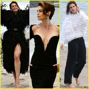 Cindy Crawford Gets Glam During Beach Photo Shoot in Malibu!