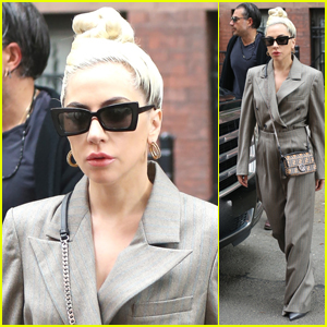 Lady Gaga & Boyfriend Christian Carino Head Out Together in NYC!