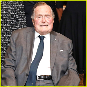 Former President George H.W. Bush Hospitalized One Month After Wife Barbara's Death