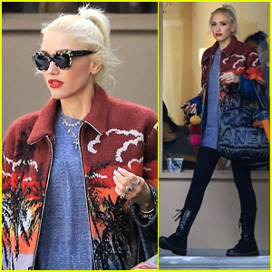 Gwen Stefani Steps Out for Mani-Pedi in Studio City