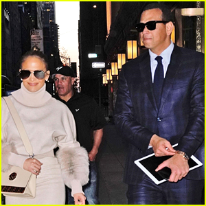 Jennifer Lopez & Alex Rodriguez Step Out for Dinner in NYC