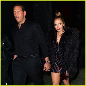 Jennifer Lopez Holds Hands with Alex Rodriguez After Met Gala 2018