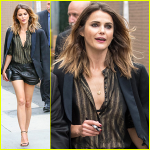 Keri Russell Gets Tested About Her 'The Americans' Murders on 'Jimmy Kimmel Live'!