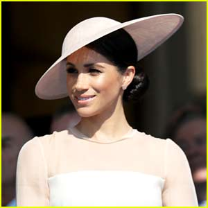 Duchess Meghan Markle Makes First Official Appearance After Wedding with Prince Harry! (Photos)