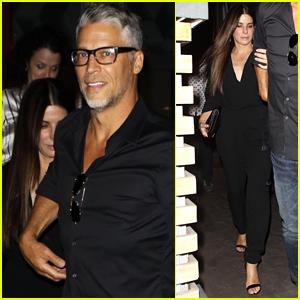 Sandra Bullock Grabs Dinner with Boyfriend Bryan Randall in WeHo!