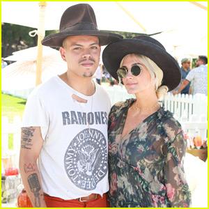 Ashlee Simpson & Evan Ross Toast to Rosé Day LA
