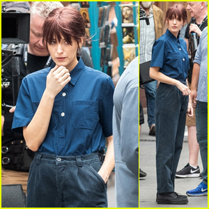 Blake Lively Gets Into Character on the Set of 'The Rhythm Section'!