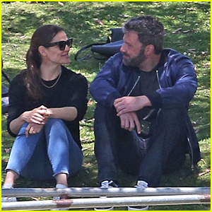 Exes Jennifer Garner & Ben Affleck are All Smiles at Son's Baseball Game!