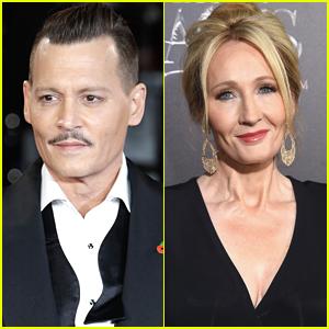 Johnny Depp Sues British Tabloid for Defamation Over Story Slamming Him & JK Rowling