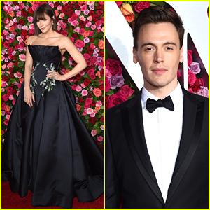 'Waitress' Stars Katharine McPhee & Erich Bergen Attend the Tony Awards 2018!