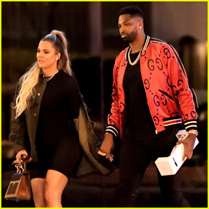 Khloe Kardashian & Tristan Thompson Enjoy a Steakhouse Dinner Together!