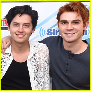 Riverdale's KJ Apa & Cole Sprouse Troll Each Other Over Their Teen Photos!