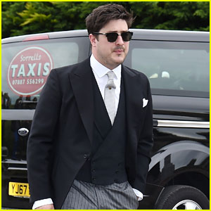 Marcus Mumford Ditches His Crutches for Kit Harington & Rose Leslie's Wedding