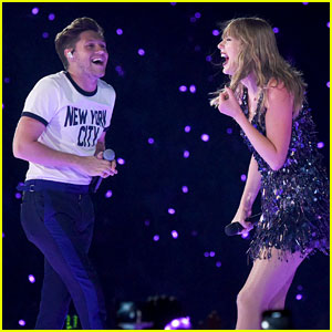 Taylor Swift Surprises London Crowd with Niall Horan!