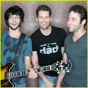 Matthew Morrison Covers Backstreet Boys with Brothers Page - Watch Now!