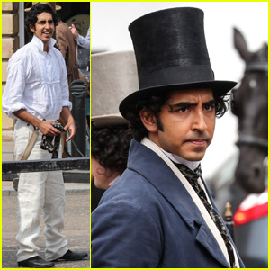 Dev Patel Films 'Personal History of David Copperfield' in Period Costume!
