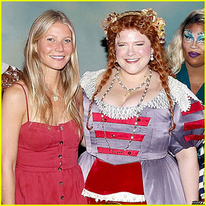 Gwyneth Paltrow Visits Cast of Broadway's 'Head Over Heels'