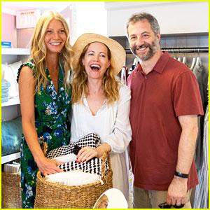 Gwyneth Paltrow & Leslie Mann Have Fun in the Hamptons!