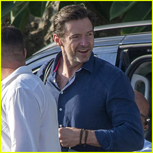 Hugh Jackman Heads Out After Italian Vacation With Wife Deborra Lee Furness!