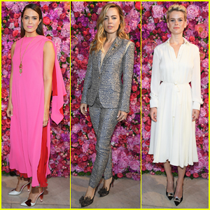 Mandy Moore Gets Glam for Schiaparelli Runway Fashion Show!