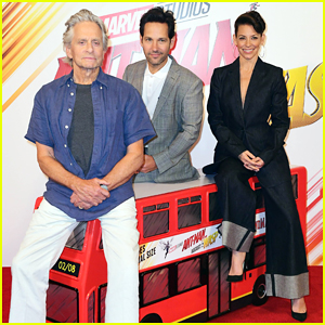 Paul Rudd & Evangeline Lilly Continue 'Ant-Man And The Wasp' Press Tour in London!