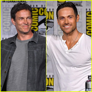 Stephen Moyer, Dylan Bruce, & Other 'Warriors' Team Up at Comic-Con 2018!