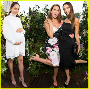 Anna Camp & Angela Sarafyan Buddy Up at Ted Baker London Launch Party!