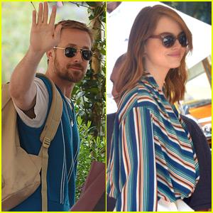 Ryan Gosling & Emma Stone Arrive for Venice Film Festival 2018