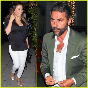 Eva Longoria Goes Makeup-Free for Dinner with Husband Jose Baston!