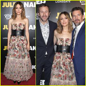 Rose Byrne, Chris O'Dowd, & Ethan Hawke Premiere 'Juliet, Naked' in NYC