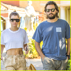 Sofia Richie Flaunts Toned Abs on Date with Scott Disick