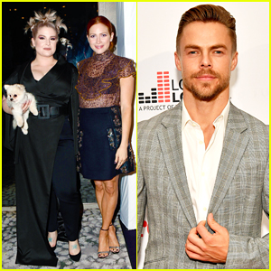 Brittany Snow, Kelly Osbourne & Derek Hough Step Out for TLC's Give A Little Awards 2018!
