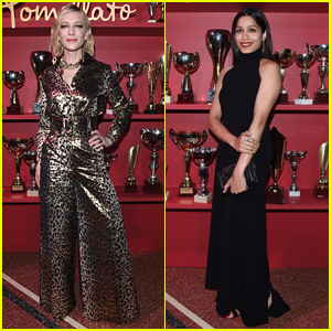 Cate Blanchett Joins Freida Pinto at Pomellato Balera Party!