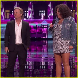 David Spade Decodes Hollywood Lingo to Vicki Barbolak on 'America's Got Talent' 2018 Finale - Watch!